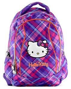 Školní batoh - Hello Kitty - fialová