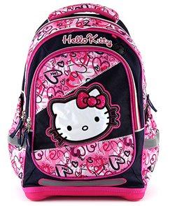 Školní batoh - Hello Kitty - jeans