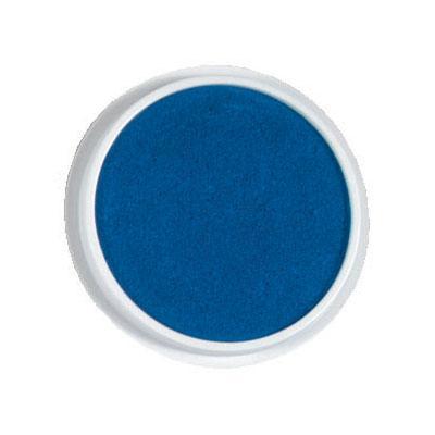 Kruhový polštářek - modrá barva