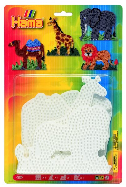 Podložky MIDI - slon, žirafa, velbloud, lev