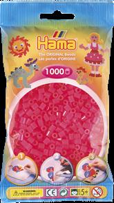 Neonové růžové korálky - MIDI