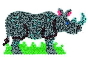 Podložka MIDI - nosorožec