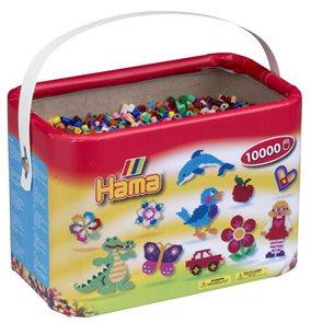 HAMA Korálky v boxu Mix - 10.000 ks - MIDI