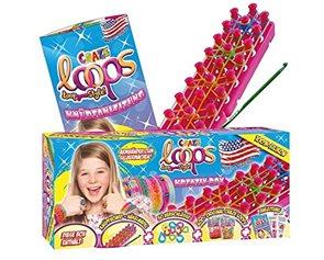 Gumičky Loops - 600 ks + pletací stav