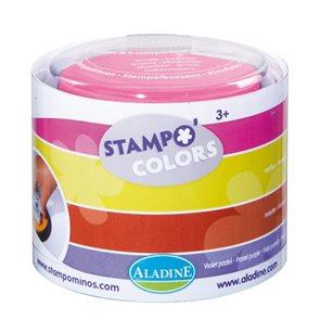 Velké barevné polštářky - FESTIVAL - 4ks