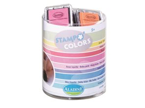 Malé barevné polštářky - Pastel