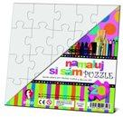 Puzzle k domalování - 20 velkých dílků