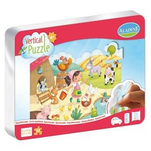 Vertikální puzzle 24 dílků - Dvoreček