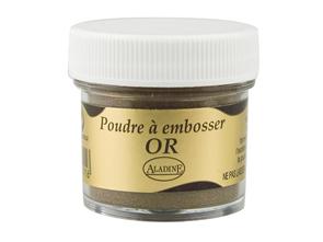 Embosovací prášek - zlatý -25 ml
