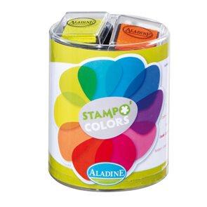 Malé barevné polštářky Aladine - Vitamíny