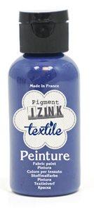 Barva na textil IZINK - klasická - 50 ml - tmavě modrá