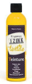 Barva na textil IZINK - tekutá- 250 ml - žlutá