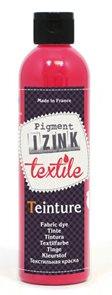Barva na textil IZINK - tekutá- 250 ml - malinová