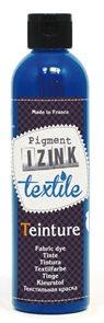 Barva na textil IZINK - tekutá- 250 ml - tmavě modrý pastel