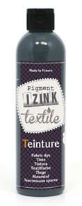 Barva na textil IZINK - tekutá- 250 ml - šedá