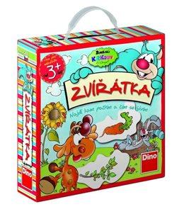 Krkouni - Zvířátka - edukativní hra věk 3+