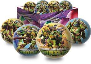 Míč - Želvy Ninja 15 cm, mix motivů