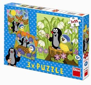 Puzzle Krtek a ptáček