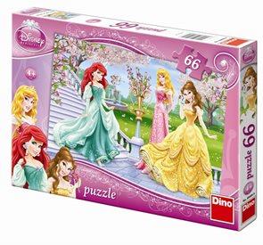 Puzzle Princezny u fontány