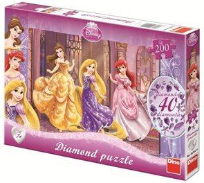 Puzzle Diamond Princezny