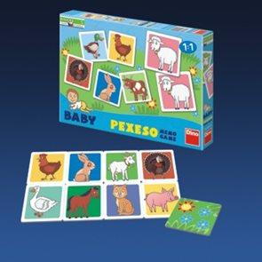 Baby pexeso - Domácí zvířátka
