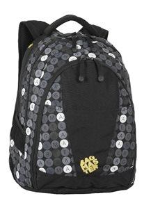 Studentský batoh DIGITAL 05 B - černo-šedý