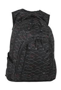 Studentský batoh LINCOLN 03 B - černý