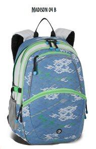 Školní batohy MADISON 04 B - světle modrá