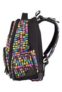 Školní batoh ORION 01 A - černo-barevná