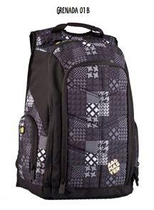Studentský batoh GRENADA 01 B - šedá