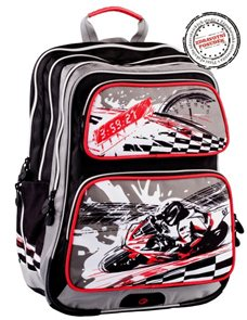 Školní batoh GOTSCHY 0114 C - Motorka
