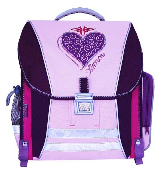Školní batoh - Amor fialová