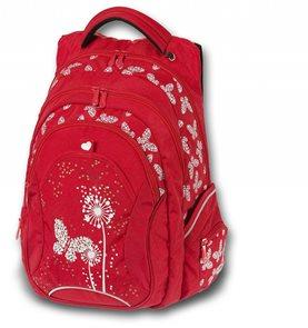 Studentský batoh - Paradise červený