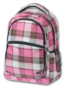 Studentský batoh - Classic růžová