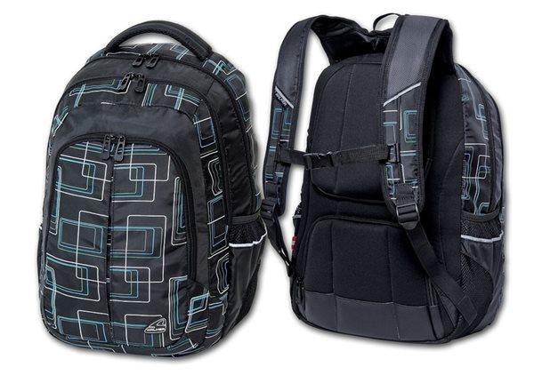 Studentský batoh - Frame - černá