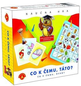 Co k čemu, táto ? - dětská hra na rozvoj logického myšlení, od 4 let