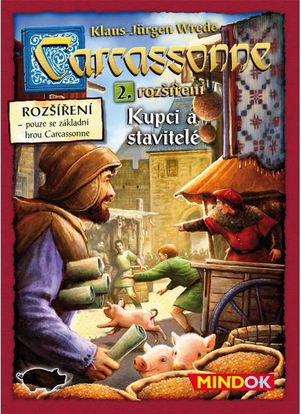 Carcassonne - Kupci a stavitelé (2. rozšíření) - Klaus-Jürgen Wrede