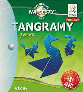Tangramy: Zvířata - SMART - logická hra - Na cesty!