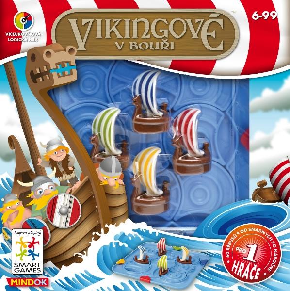 Vikingové v bouři - SMART logická hra, Sleva 11%