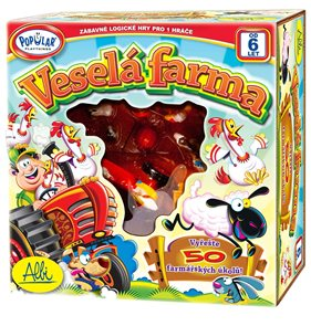 Veselá farma - Popular - logická hra