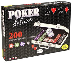 Poker Delexe 200 chips