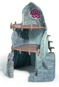 Elfí dům temný, kamenný - Schleich