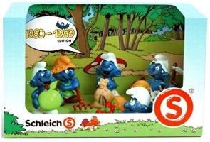 Šmoulové - Set 5 šmoulů (1980-1989) - 41257 - Schleich