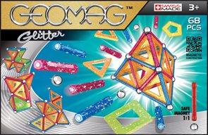 Geomag Glitter 68 ks, 3+