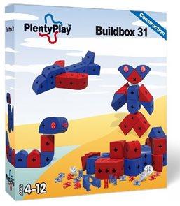 Buildbox 31 červená + modrá