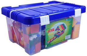 Stavebnice SEVA 1239 - box /1239 dílů/