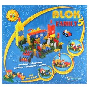 Stavebnice Blok 5 - Family / 242 dílů/