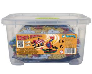 Stavebnice SEKO 4 Jumbo - box /1800 dílů/