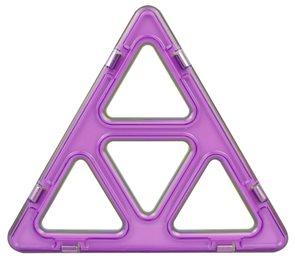 Super Trojúhelníky - Magformers 12 ks - magnetická stavebnice