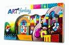 Genii Creation ART Fantasy - kreativní dřevěná stavebnice /130 dílků/